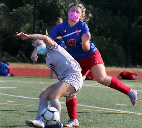 Tewksbury v Lowell girls soccer 101020