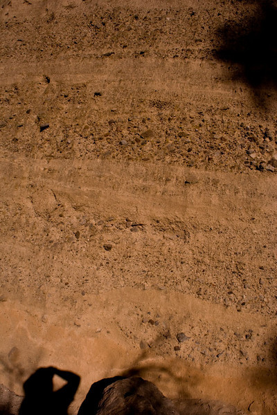 This is my soil strata shot taken for my father, who inevitably includes one or two in his vacation shots.