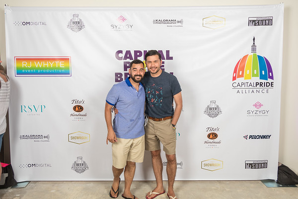 Pride Brunch 2017 - Step and Repeat