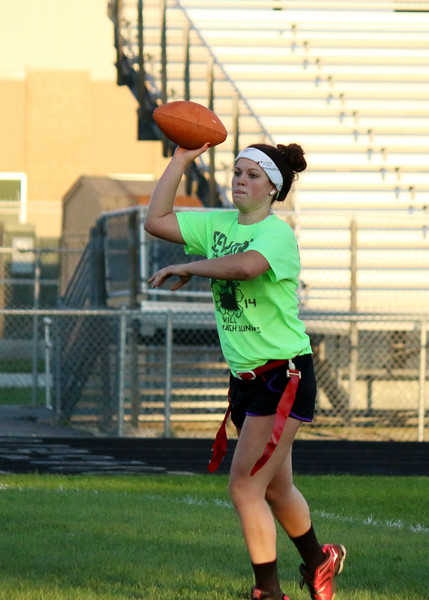 SNHS Powderpuff Football 2014