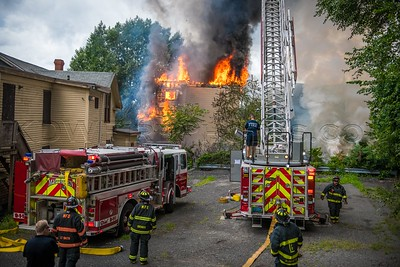 3 Alarm Structure Fire - Prospect St, Lawrence, MA - 7/25/18