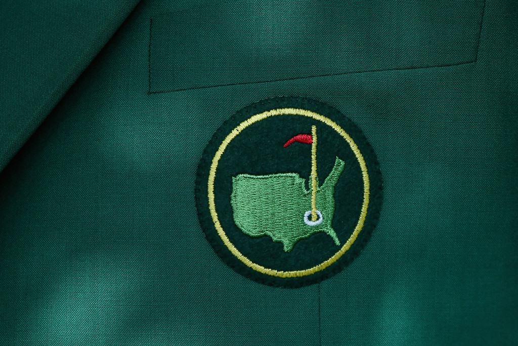 . An ANGC member jacket is seen during a practice round prior to the start of the 2014 Masters Tournament at Augusta National Golf Club on April 9, 2014 in Augusta, Georgia.  (Photo by Andrew Redington/Getty Images)
