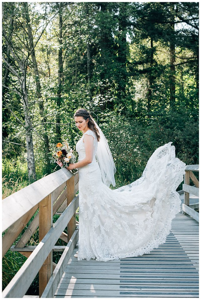 campbell valley park wedding bridal portrait