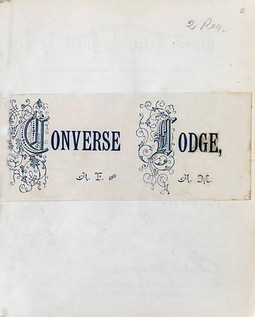 Converse Masonic Documents