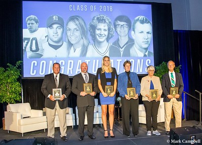 Hall of Fame Ceremony  10-26-18