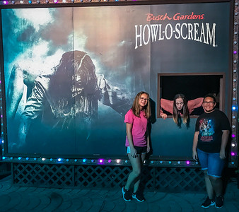 10/20/2017 Howl-O-Scream @ Bush Gardens
