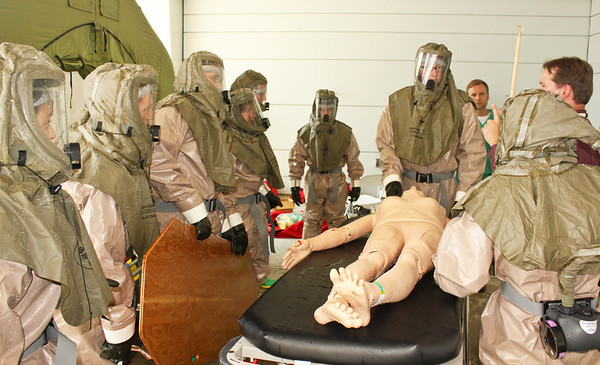 Decon Training at DHMC