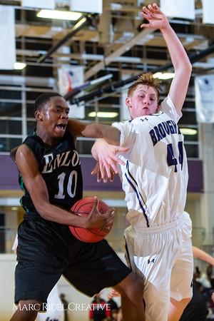 Broughton boys JV basketball vs Enloe. January 4, 2019. 1-4-19 BasketballBV00751