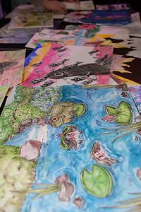 AP Art Exhibition