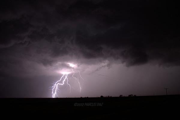 August 24, 2012 White Deer, TX Storm