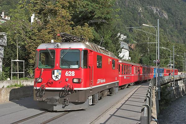 19th September 2008: Switzerland Day 4-Rätische Bahn Ilanz to Chur