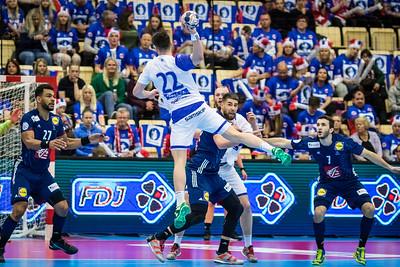 Iceland vs France, 8. April 2018