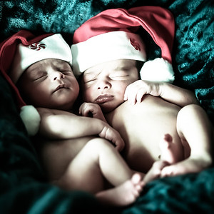 Javi and Rafa newborn preview gallery