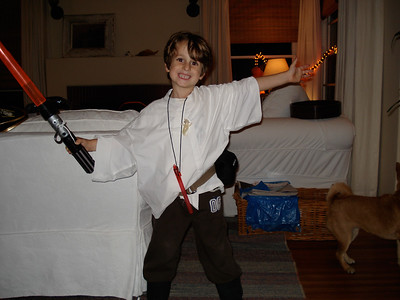 """Luke Skywalker"" for halloween"