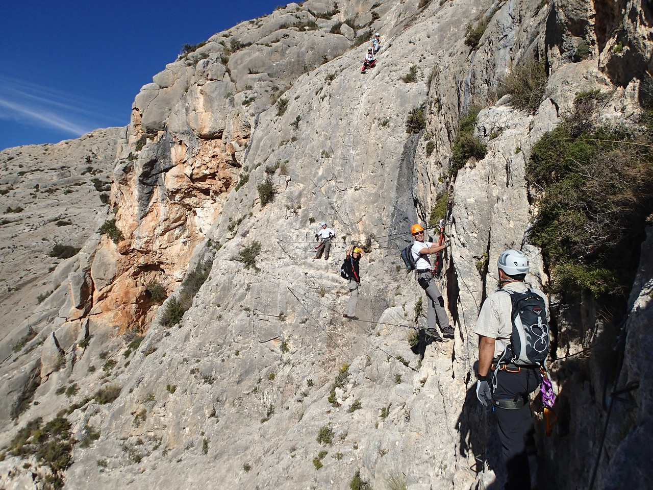 Traversing at Castiello de Salvatierra