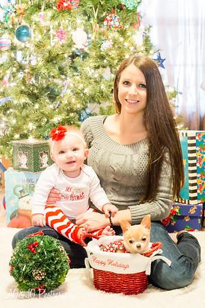 Allison, Madeline & Lexie (Holiday Photos)