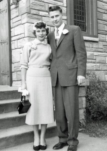 Mary Jane Schuyler and Glenn Krueger