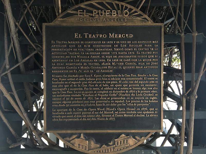 El Teatro Merced