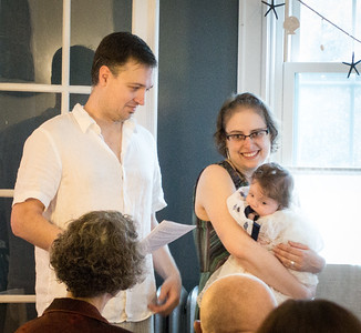 Elanore Lorianna Munroe's Baptism