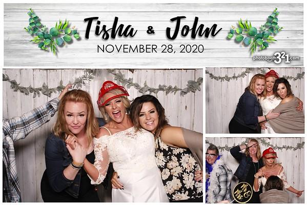 Tisha and John Wedding 2020