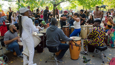 Drum Circle dance October 30 2016