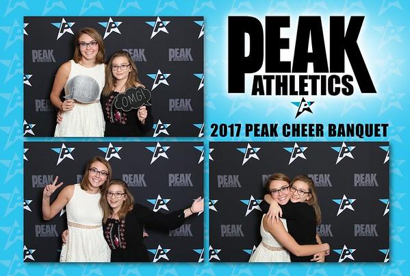 2016 PEAK Cheer Banquets