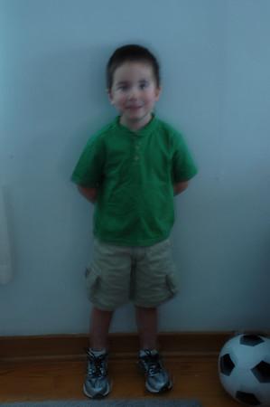 Josiah's Kindergarten Year