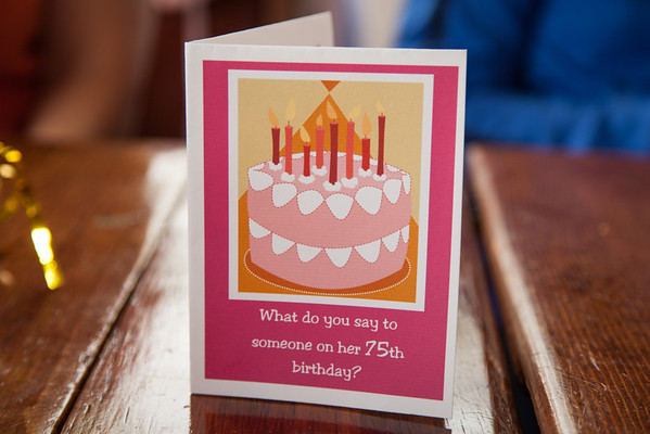 Pat Clair's 75th birthday