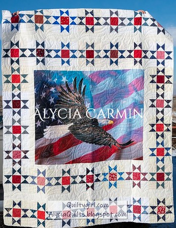 Alycia's 2020 Quilts of Valor