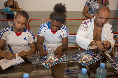 Equipe de France de Judo en Guyane