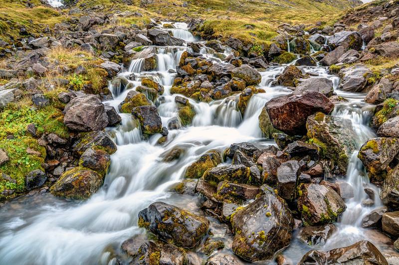 Glacially-fed Cascade