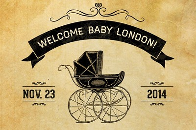 Welcome Baby London 11/23/14