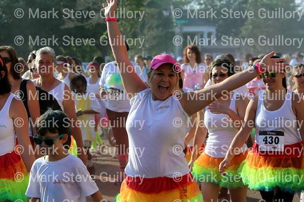 RUN - Color Run, New Iberia, Louisiana 2014