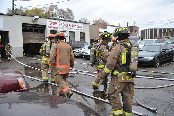 November 17, 2010 - 2nd Alarm - 72 Moira Ave.