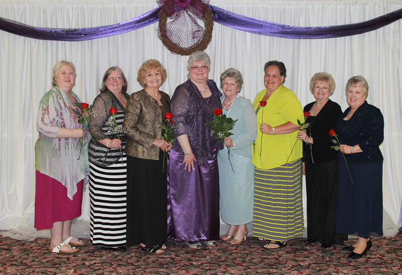 Gamma Psi - Penny McCullah, Pam McCullah, Gloria Allgood, Ann Southall, Floye Brewer, Debbie Dudley, Judy Whitehead, and Audrey Wright