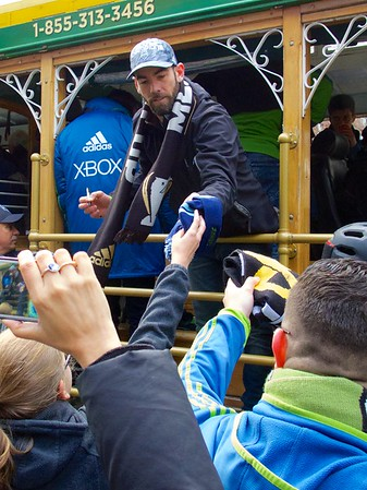 Sounders FC MLS Cup Parade December 13, 2016
