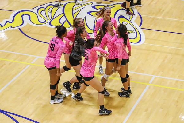 Ransom Everglades Girls' Volleyball District Finals, 2017