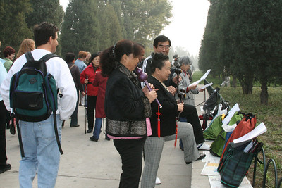Thursday 10/25 Temple of Heaven, Tianan Men Square, Forbidden City