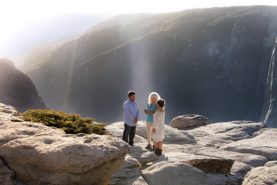 Casey and Rebekah Riley, Yosemite National Park