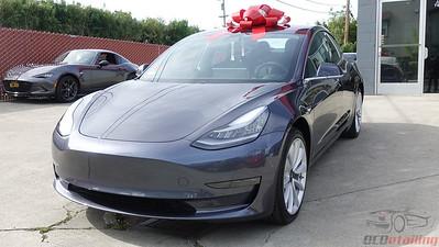 Tesla Model 3 - Midnight Silver 2