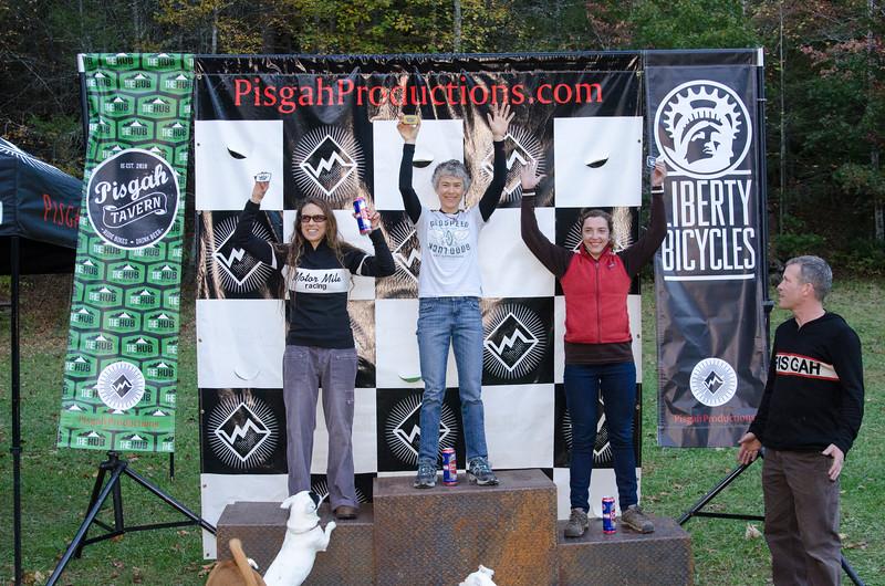 Queens of Pisgah: 1st Carey Lowery; 2nd Brenda Frantz Simril; 3rd Kaysee Armstrong