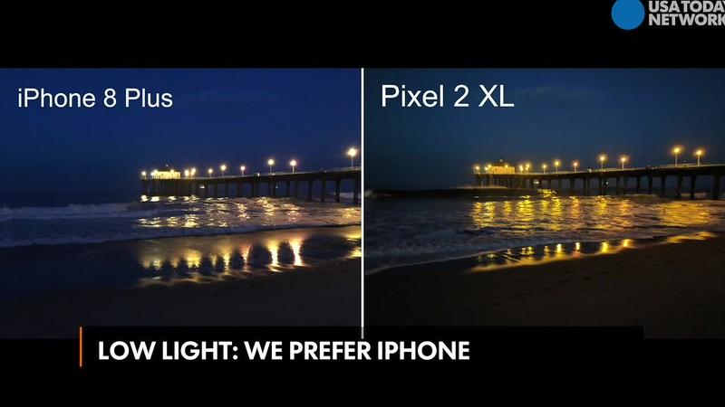 Google Pixel 2 vs. Apple iPhone 8 Plus, shootout
