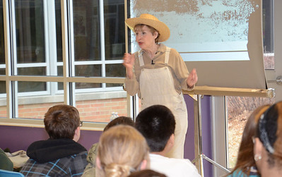 Pippa White at Culler Middle School