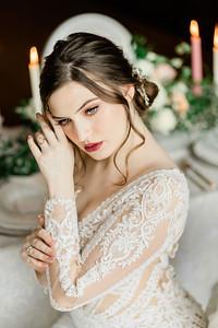 Moody Old World Bridal Shoot