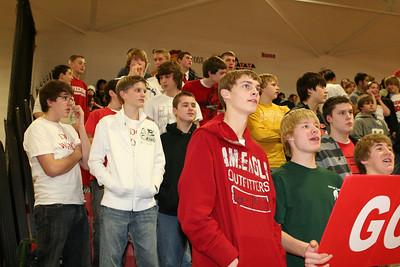 Girls Varsity Basketball - 2007-2008 - 2/1/2008 Spring Lake
