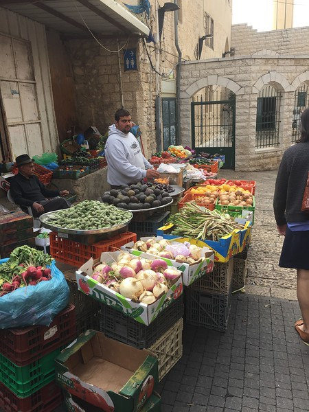 Fresh produce, Nazareth - Bridget St. Clair