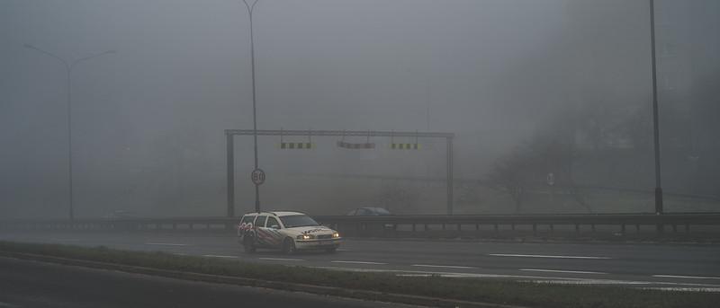 Poznan In The Fog