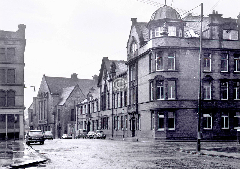 Turnbull St, west side at St Andrew's St. 