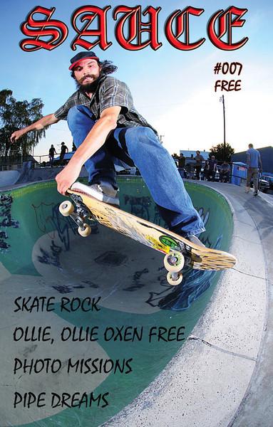 SAUCE skateboard zine