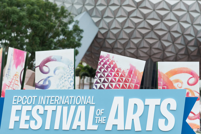 Entrance - Epcot International Festival of the Arts 2017